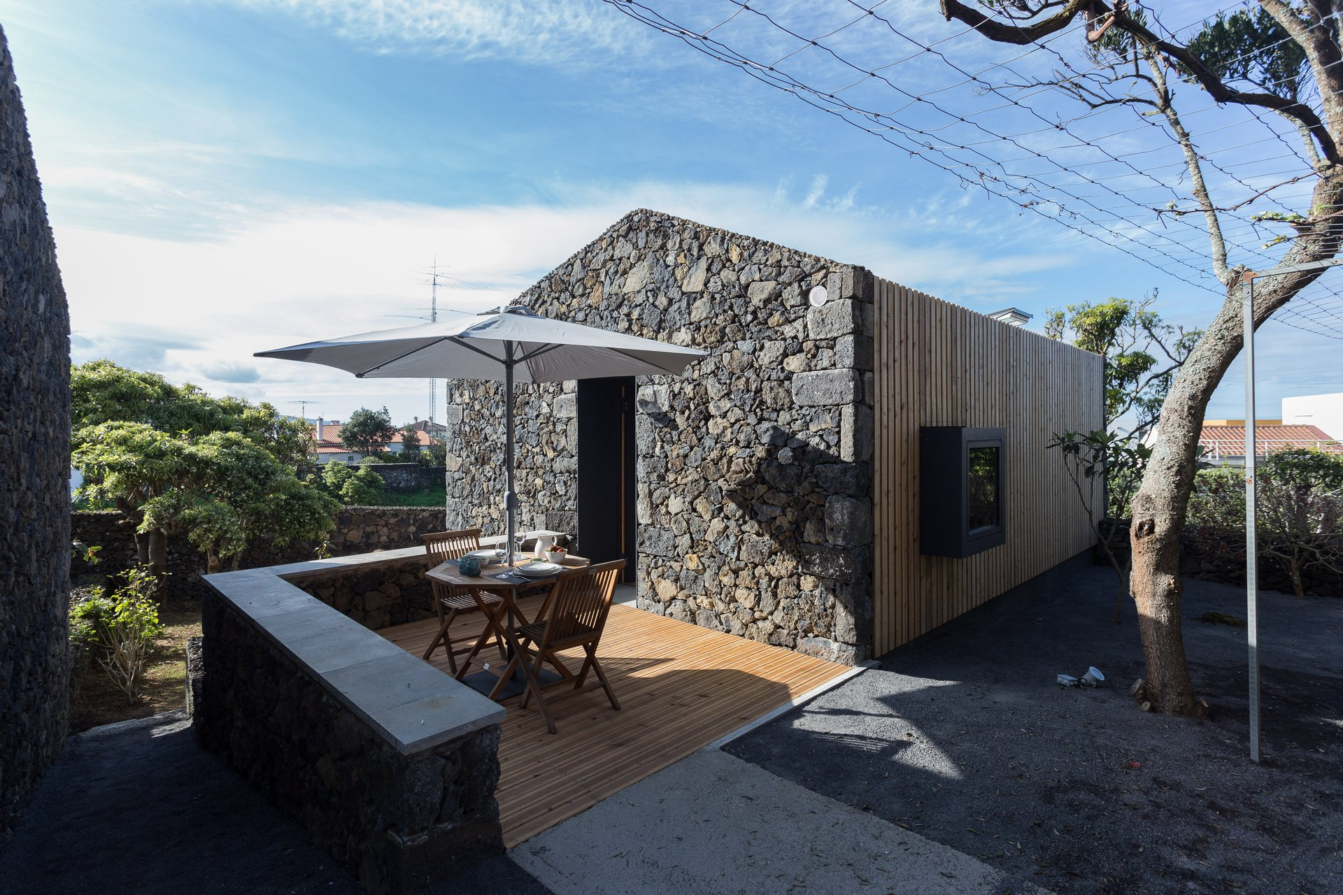 Reinvented Azorean architecture and landscape